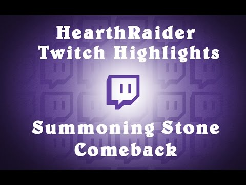 [Twitch Highlights] Summoning Stone Mage V.S Mech Mage