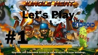 Lets Play Jungle Heat Episode #1 (Android): Showing You Guys The Game