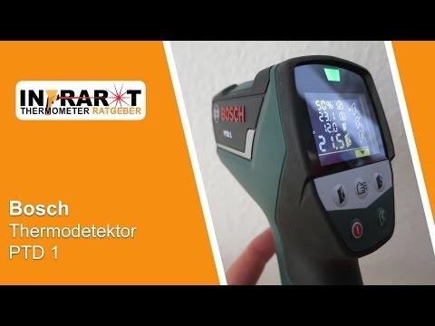 Видео обзор: Детектор BOSCH PTD 1 Термо