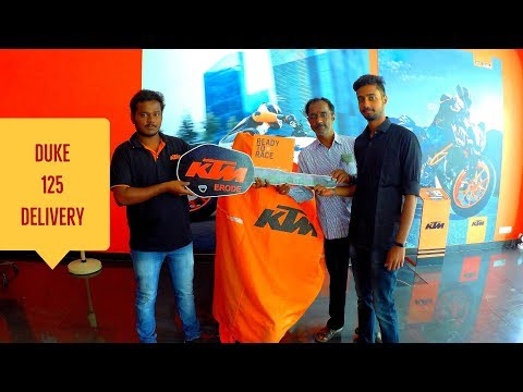 FIRST DUKE 125 DELIVERY IN ERODE KTM