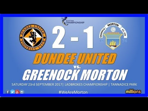 Greenock morton 0-2 dundee united