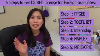 How to Get a US RPh License if You're a Foreign Graduate