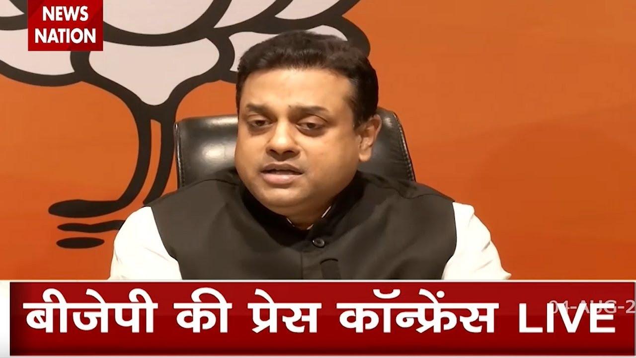 Sambit Patra targets Rahul Gandhi, said Doing politics on rape is a heinous crime
