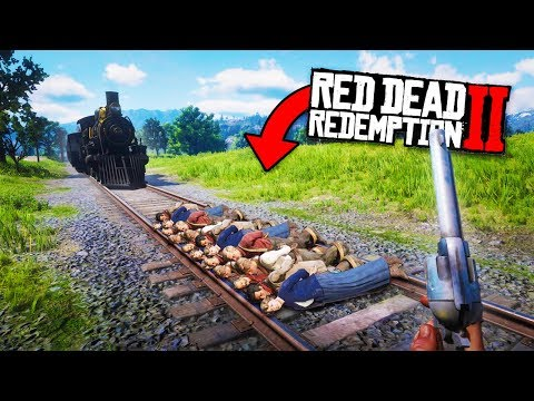 TOP 50 FUNNIEST FAILS IN RED DEAD REDEMPTION 2