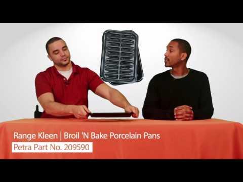Range Kleen BP106X Broil 'N Bake Porcelain Pans