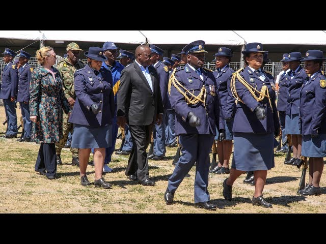 Ramaphosa warns gangsters that their days are numbered
