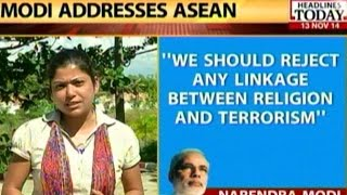 """PM Modi """" Reject link between terrorism and religion"""""""