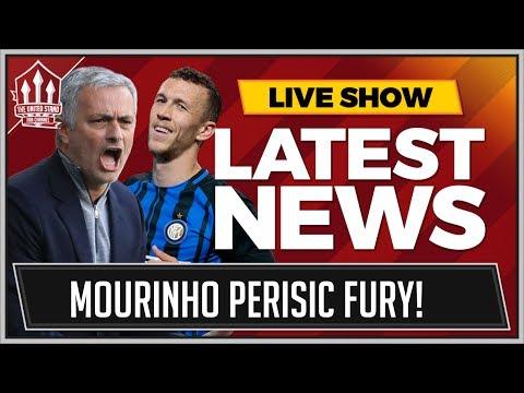 MOURINHO Despair at PERISIC To MAN UTD Deal | MAN UTD Transfer News