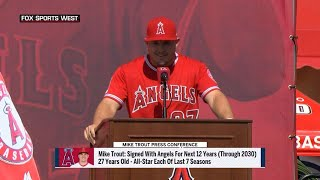Trout addresses Halos nation as extension is official