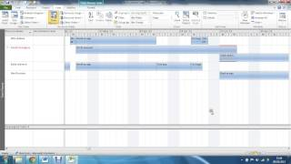 using the team planner view in ms project