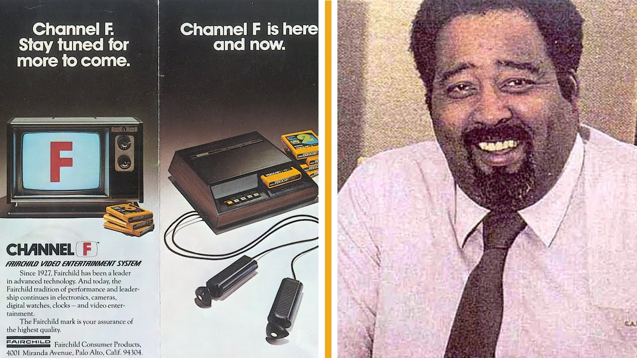 A Black Man Developed the First Cartridge Video Game Console | Jerry Lawson