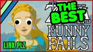 The BEST OF Funny Fails | Breath of the Wild Funny Moments