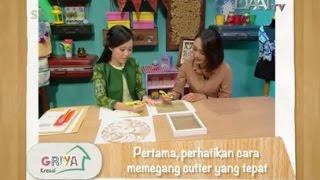 Paper Cutting Indonesia - Daai TV, Griya Kreasi