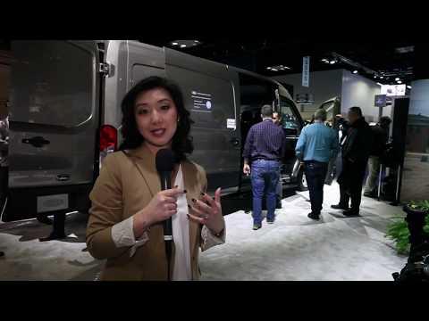 Walkaround of Ford's 2020 Transit Van