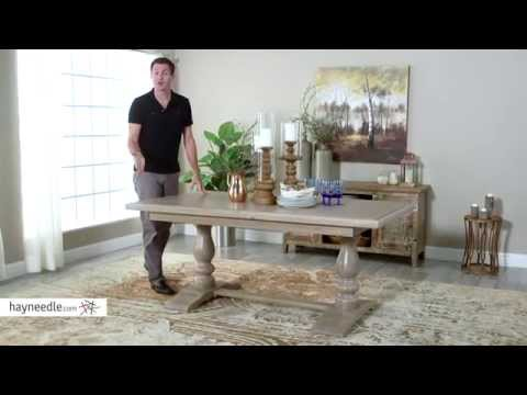 Belham Living Kennedy Trestle Extension Dining Table - Product Review Video