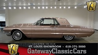 1964 Ford Thunderbird Stock #6949 Gateway Classic Cars St. Louis Showroom