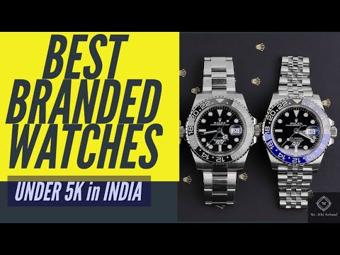 Best Branded Watches Under 5000 Rupees In India-2020- Online Mobile Purchase
