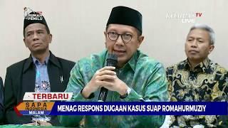Download Video Begini Tanggapan Menteri Agama Soal Dugaan Kasus Suap Romahurmuziy MP3 3GP MP4