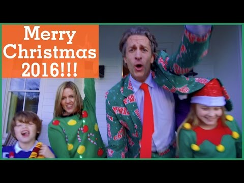 Merry Christmas 2016!! | Music Video in One Take! | The Holderness Family