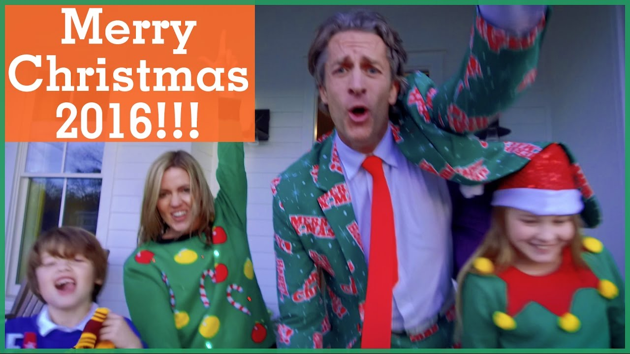 Merry Christmas 2016!! | Music Video in One Take! | The Holderness ...