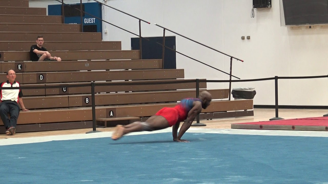 Donnell Whittenburg - Floor Exercise - 2019 Men's Worlds
