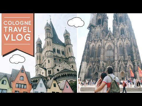 EUROPE TRAVEL VLOG #12: Snippets of Cologne - One of the MOST BEAUTIFUL cathedrals in Europe!
