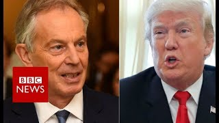 Michael Wolff's Book: Claim Trump aide warned of UK spying absurd, says Tony Blair  - BBC News