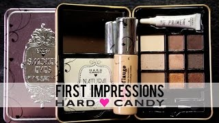 New At The Drugstore | Hard Candy | First Impressions