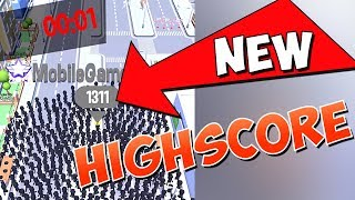 NEW HIGHSCORE IN CROWD CITY!!! (1311)