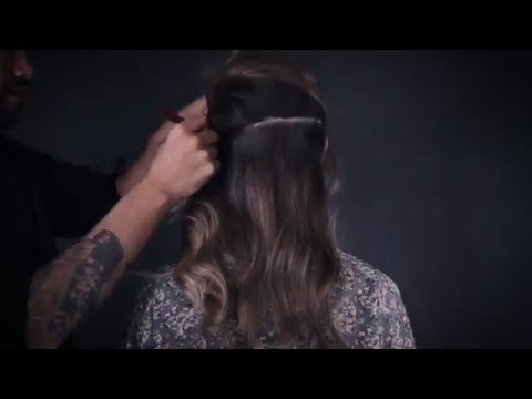 Tresse premium hair collection - Clip in Hair extensions with Roger Medina