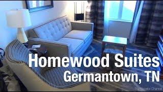 Hotel Review - Homewood Suites Germantown, Memphis TN