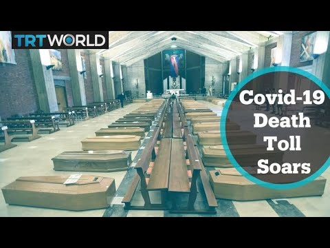 Covid-19 death toll soars in Europe