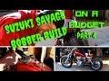 Suzuki Savage Bobber Build On A Budget!! Part 4!!