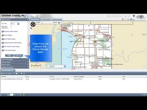A Basic Overview of the Calumet County GIS Application
