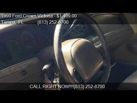 1999 Ford Crown Victoria LX 4dr Sedan for sale in Tampa, FL