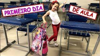 PRIMEIRO DIA DE AULA | VALENTINA -