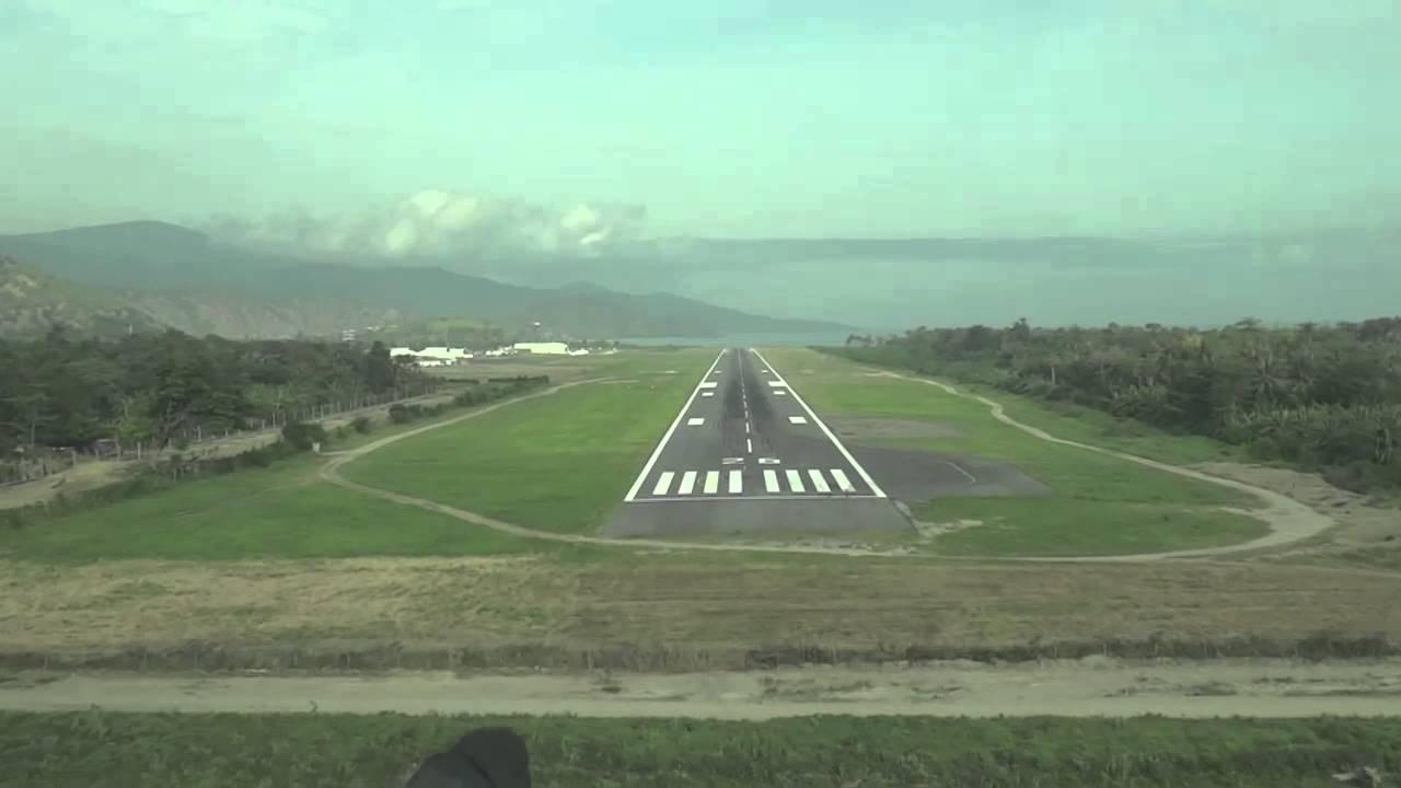 Aeroporto Dili : Dili nicolau lobato international approach euroatlantic airways
