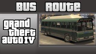GTA IV Bus Route: Route 19  Exchange