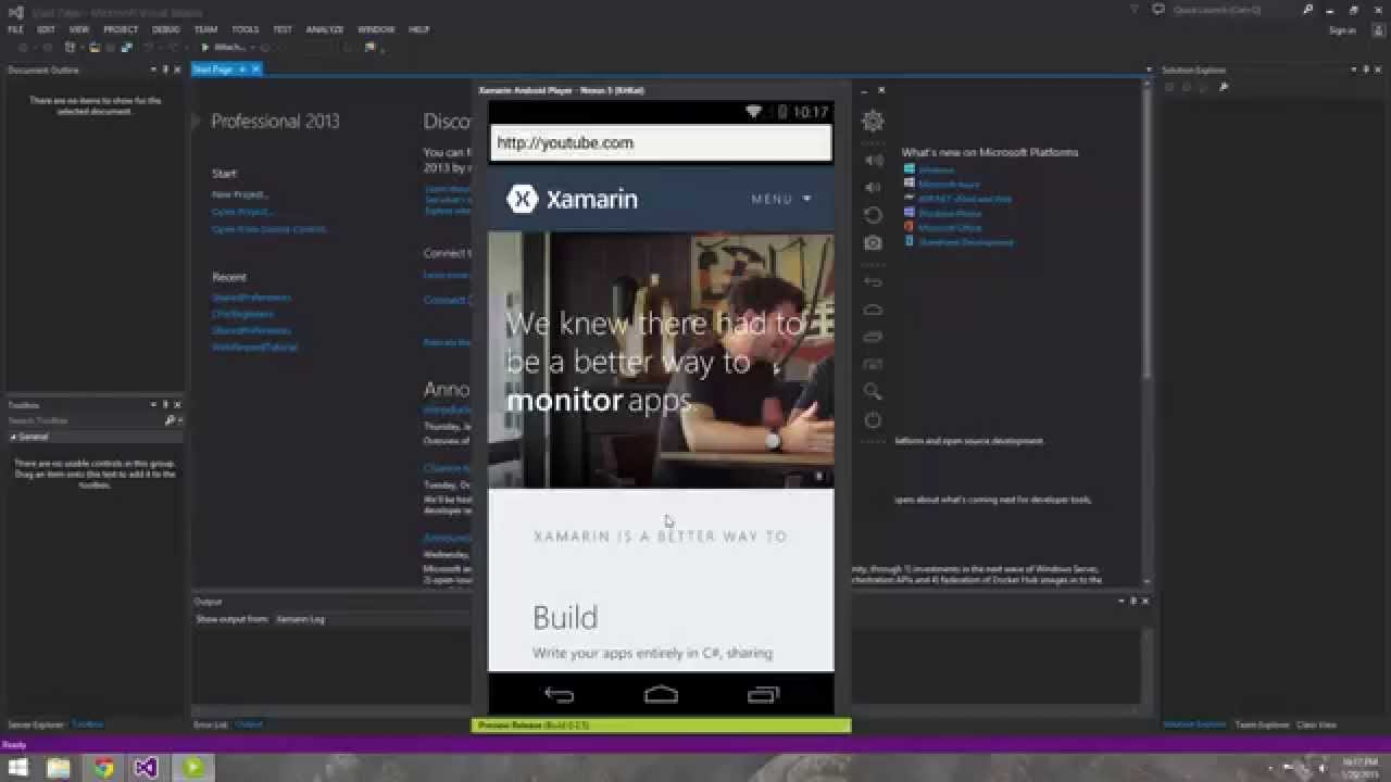 Simple Web Browser using WebView in Android Studio - YouTube