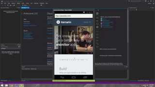 Xamarin Android Tutorial   35   Creating a Simple Web Browser