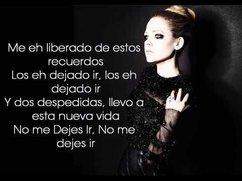 Avril Lavigne FT. Chad Kroeger - Let Me Go [Subtitulos Al Español]