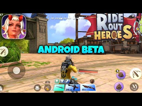 RIDE OUT HEROES - ANDROID BETA GAMEPLAY