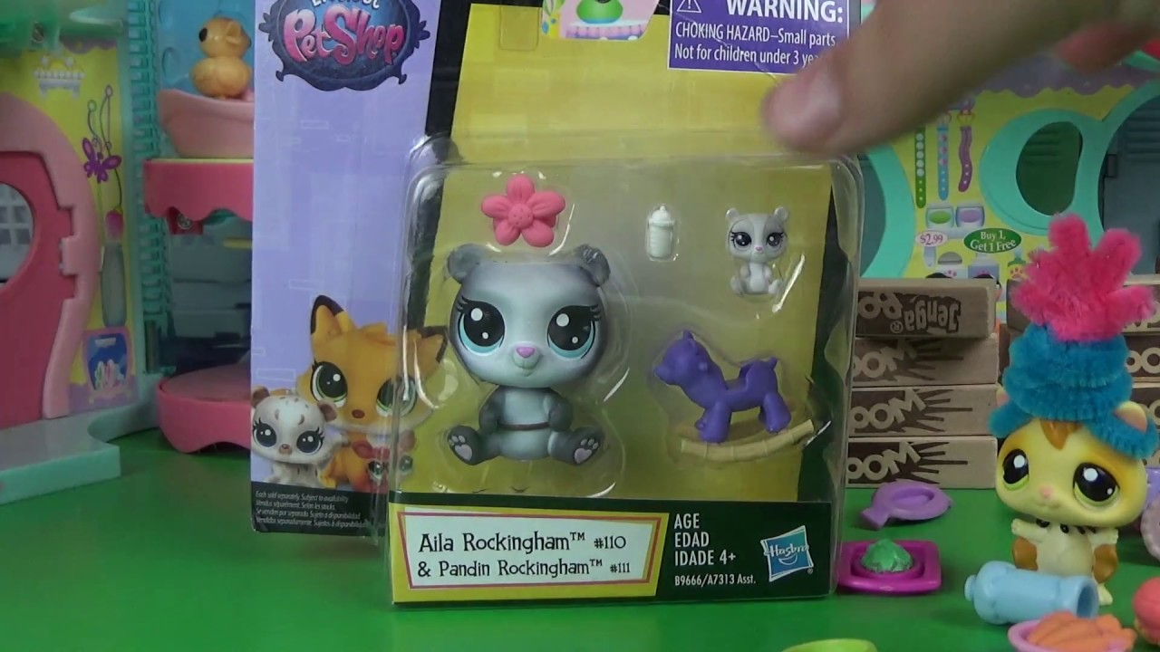 Lps New Tensie Mommy And Baby Set 1 Take Freak Out 6 Youtube