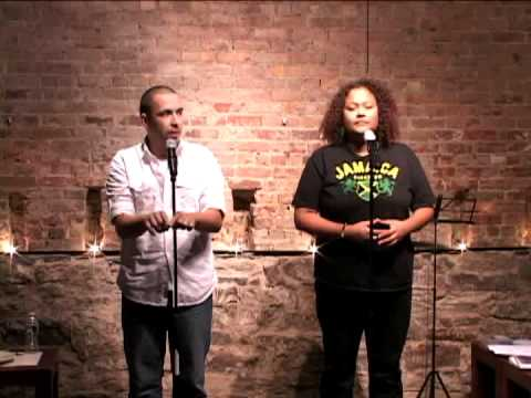 Poets Joaquín Zihuatanejo & Natasha Carrizosa @ Mike Geffner Presents The Inspired Word - Part 1