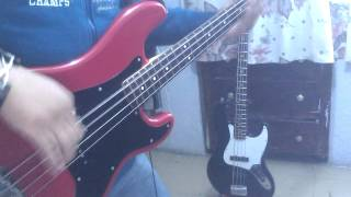 La lambada (cover bass)