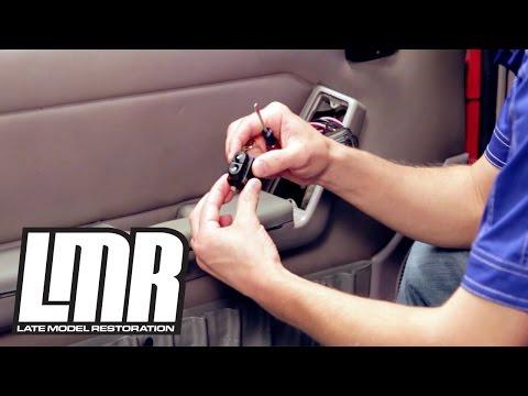 Fox Body Mustang Door Lock & Window Switch Install - 5.0Resto