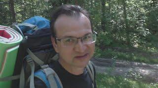 Поход в лес с ночевкой.Часть 1. Переход | Рыбалка | Стоянка