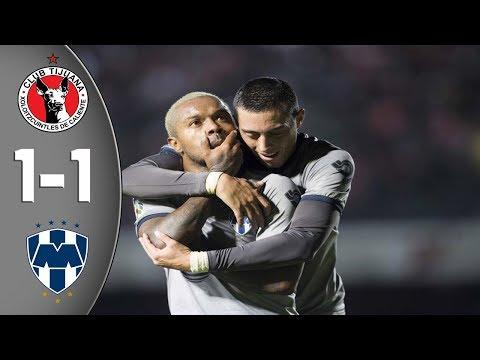 Resumen Xolos Vs Rayados 1-1 Cuartos De Final IDA Liguilla Clausura 2018