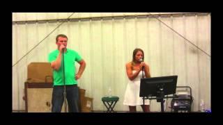 Whiskey Lullaby Karaoke Duet 6-15-13