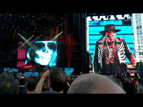 Guns N Roses – It's so easy (live in Montreal – Not in this lifetime tour 2017)